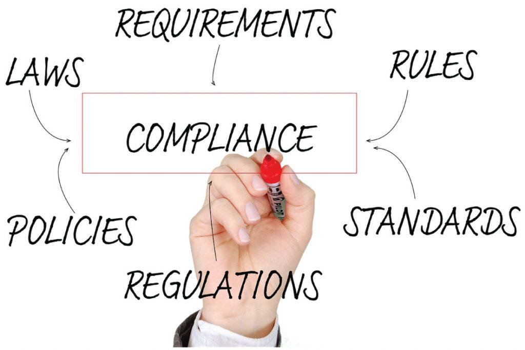 graphique sur la compliance