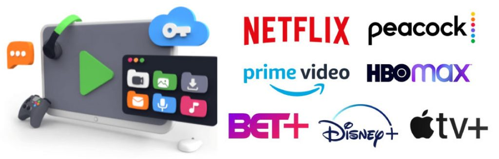 pia compatible streaming services