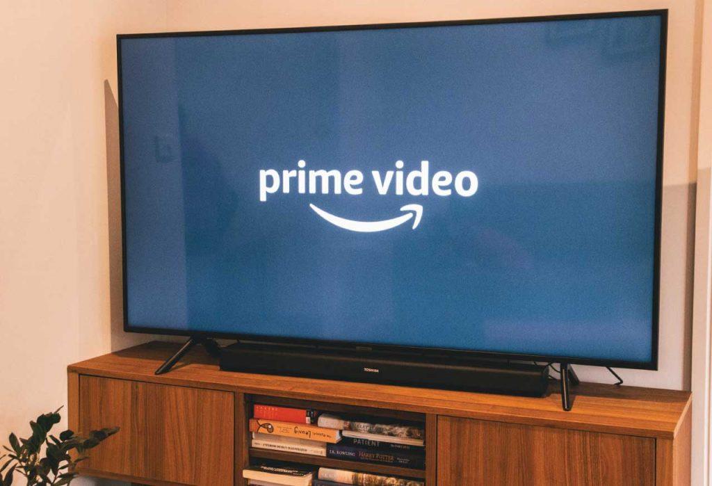 meuble télé avec prime video américain