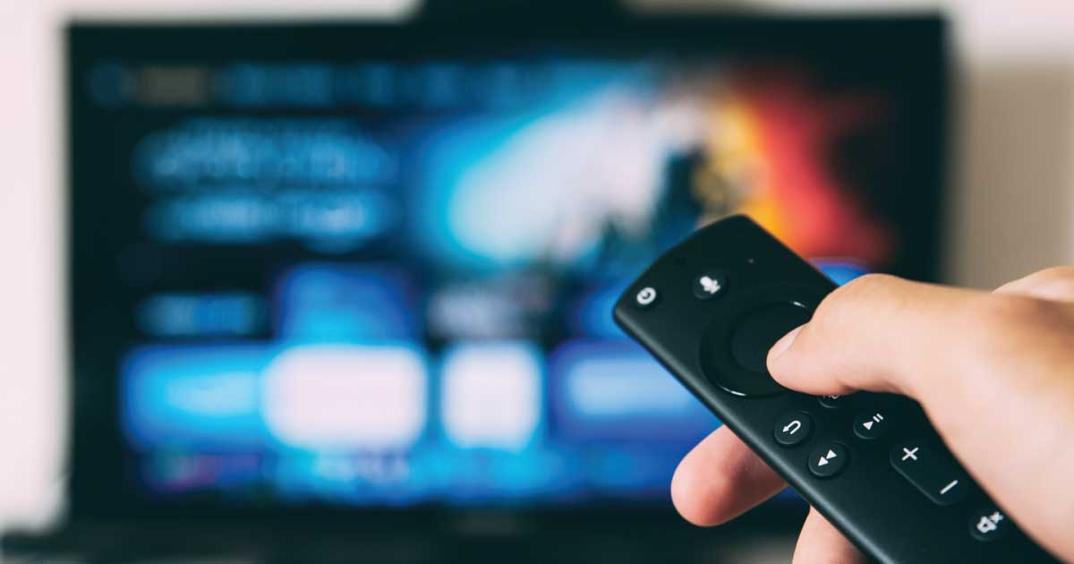 telecommande pointée tv prime video us